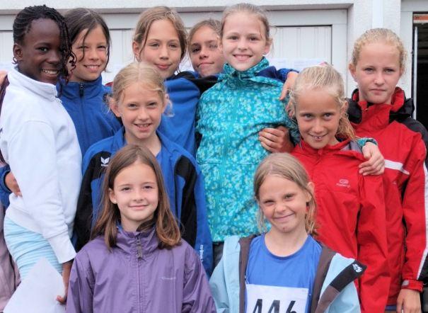U12 Mädchen des SR Yburg Steinbach