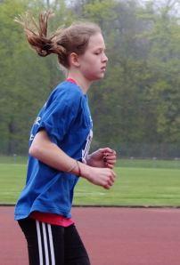 Kreismeisterin über 2000 Meter W12: Helen Fischer
