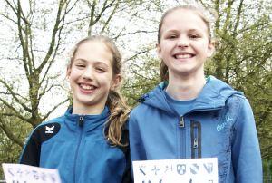 Jeweils ein Titel und ein zweiter Platz: Rachel  fruchtmann und Helen Fischer