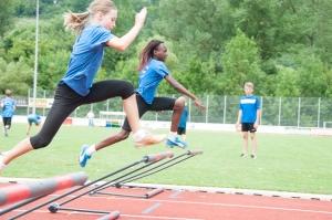 2. Disziplin : 40 Meter Hürden