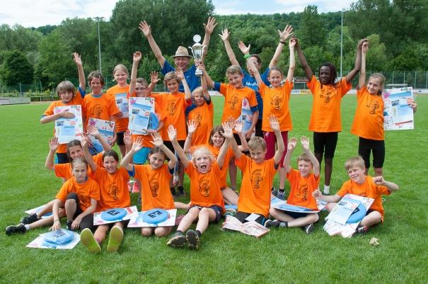 Freude pur: Die erfolgreichen Talentiade Teams