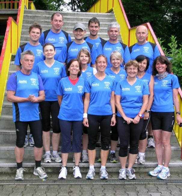 Foto Laufgruppe 2012