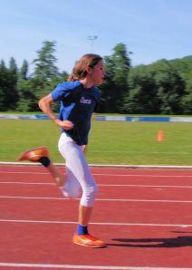 Lief ein starkes Rennen in der U12 Staffel: Clara Kopitzke