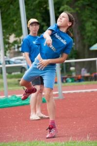 Rettete mit ihrem Einsatz das Mannschaftsergebnis: Nathalie Gutheil