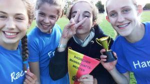 Badischer Mannschaftsmeister U14 : Mädchen Mannschaft des SR Yburg
