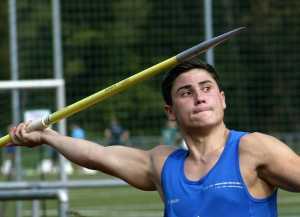 Sascha Graf, Fünfter bei den Deutschen U23 Meisterschaften