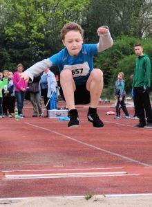 Schnellster Sprinter, bester Springer: Arwen Derler