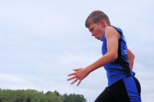 Starke Leistungen in allen vier Disziplinen: Niklas Huber