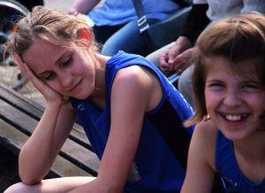 Die Stärksten Fünfkämpferinnen W10: Hanna und Franziska