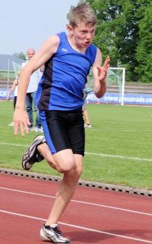 Bestleistung in allen fünf Disziplinen: Niklas Huber