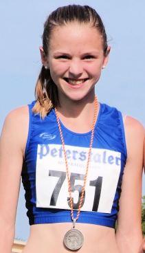 Super Sprintzeiten, unglaubliche Energieleistung über 800 Meter: Helen Fischer