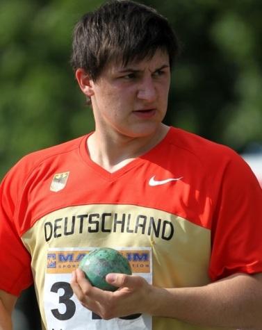 Wieder im Trikot des Deutschen Leichtathletik Verbandes: Bodo Göder