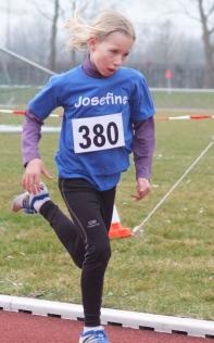 Wie im vergangenen Jahr: 800 Meter Sieg für Josefine Fruchtmann