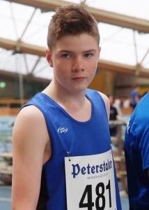Lukas Girarde, Silbermedaille über 800 Meter