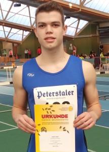 Robin Siehl, Vierter Platz über 200 Meter