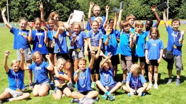 Toller Erfolg der Steinbacher Grundschüler: Sieg im Nordbaden Finale