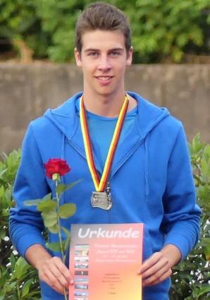 zwei Mal deutscher Vizemeister: Joshua Braun