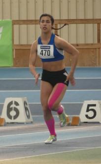 Dana Lang: Schnellste Badische U16 Sprinterin